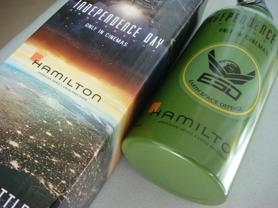 Hamilton Watches Ltd Edition Independence Day Water Bottle New & Boxed