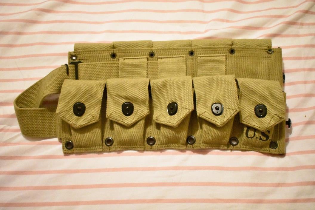 ww2 reproduction m1 garand belt