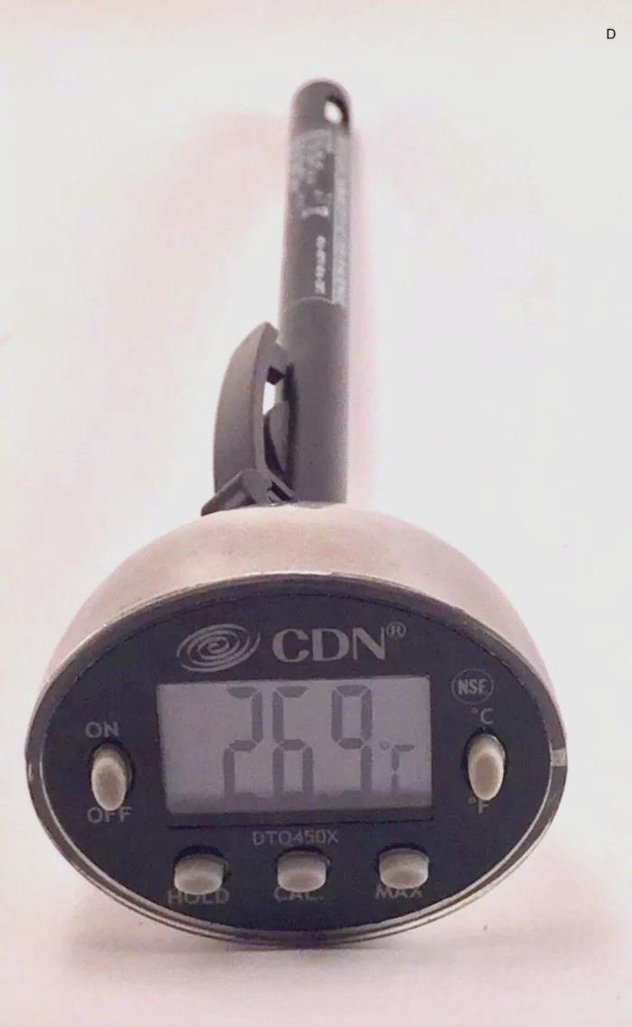 CDN Dtq450x Digital Proaccurate Quick-Read Thermometer - FREE SHIPPING -