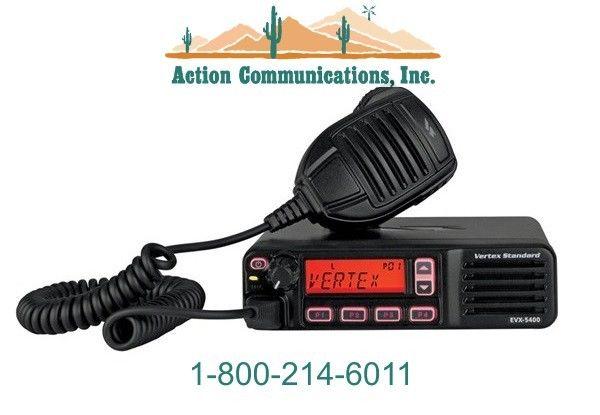 NEW VERTEX/STANDARD EVX-5400, UHF 403-470 MHZ, 25 WATT, 512 CHANNEL TWO WAY
