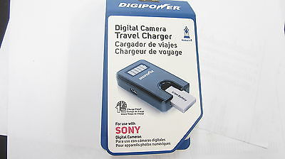 DIGIPOWER SONY DIGITAL CAMERA TRAVEL CHARGER 1 HOUR CHARGING TIME NEW IN THE BOX