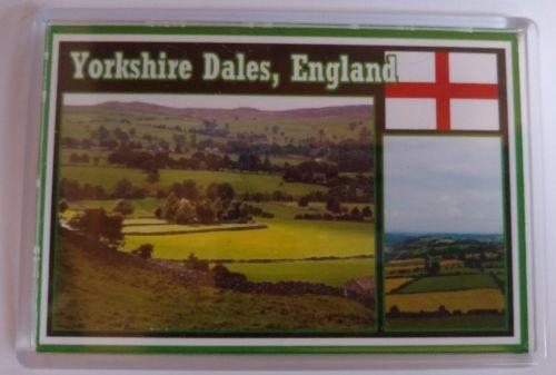 Fridge Magnet YORKSHIRE DALES, ENGLAND Tourist Souvenir Large 3.5
