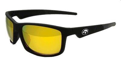 Maxx Sunglasses Retro 2.0 NCAA University of Iowa Black HD Yellow Lens