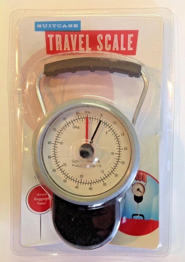 Luggage Scale Travel Portable Baggage Hanging Suitcase Hook 38 kgs 84 lbs