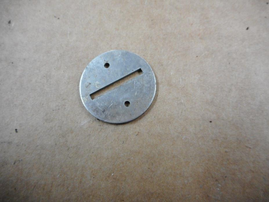 Nickel Coin Entry Slot Disc 5 cent Columbus Peanut Gumball Vending Machines