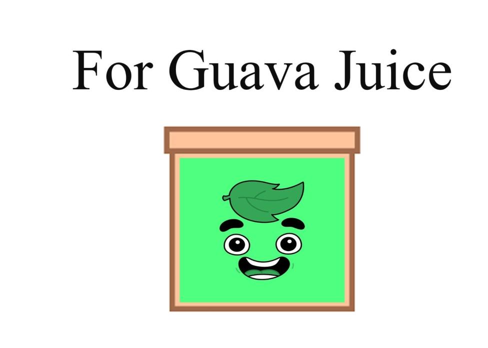 MYSTER BOX for GUAVA JUICE ;)