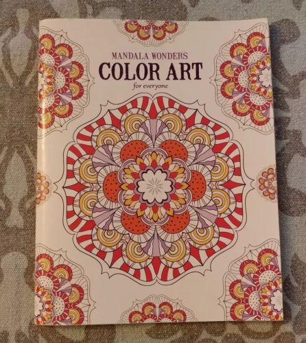 Mandala Wonders Color Art For Everyone - Adult Coloring Book