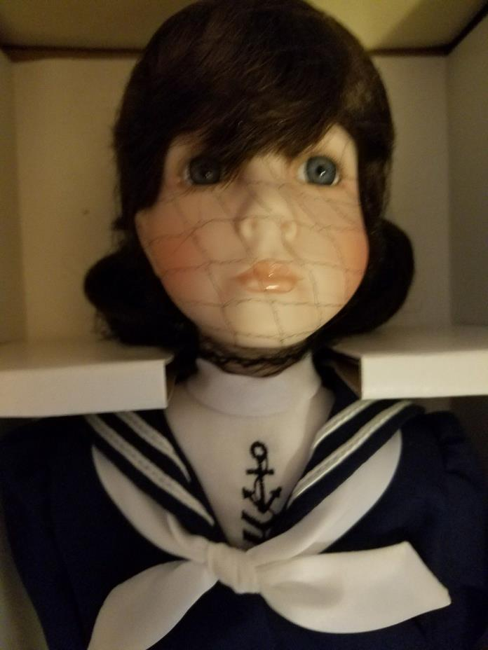 * NEW VINTAGE Georgetown Collection American Diary Doll JENNIE COOPER Sag Harbor