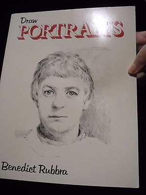Draw Portraits by Benedict Rubbra (1979, Paperback)