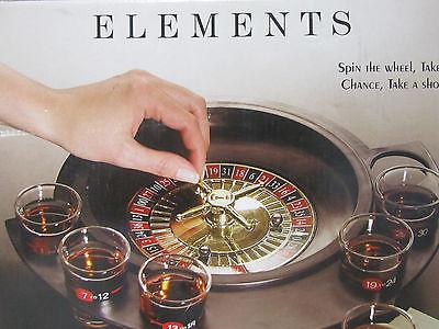 Element Roulette Shot Game Set NIB