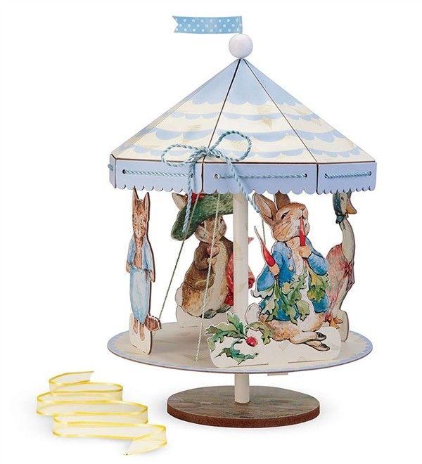 Peter Rabbit Spinning Centerpiece Beatrix Potter Meri Meri Sealed Festive Party