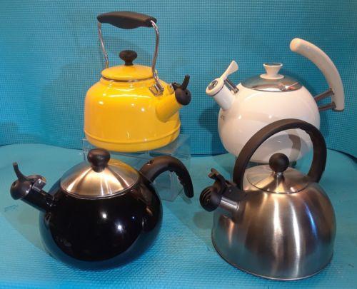 LOT ~ Teapot Tea Kettle ~ Chantal Farberware Copco #0406
