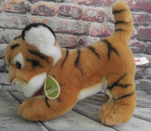 Aurora Babies Bengal Tiger Cub Plush Stuffed Animal Light Brown - EUC