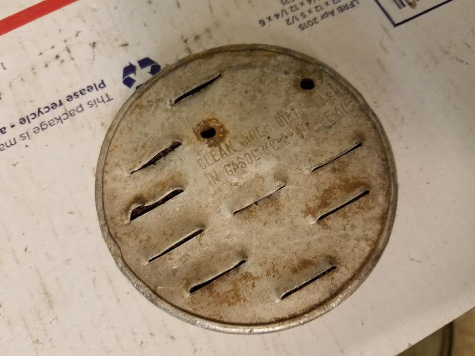 Antique REO Small Engine Air Cleaner. Hard to find.