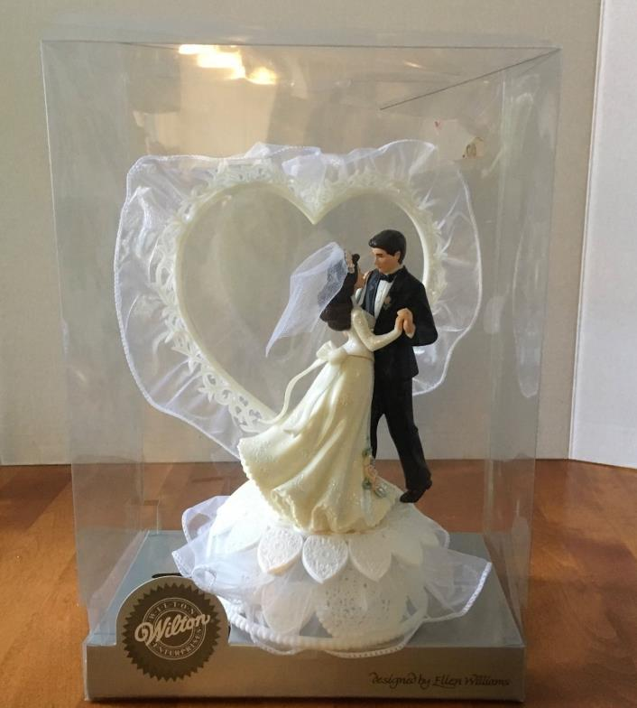 Vintage Wilton Large Cake Topper. 1995. Our First Dance. MIB. Unused
