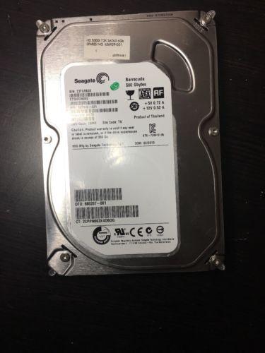 Seagate Barracuda 500GB Internal 3.5