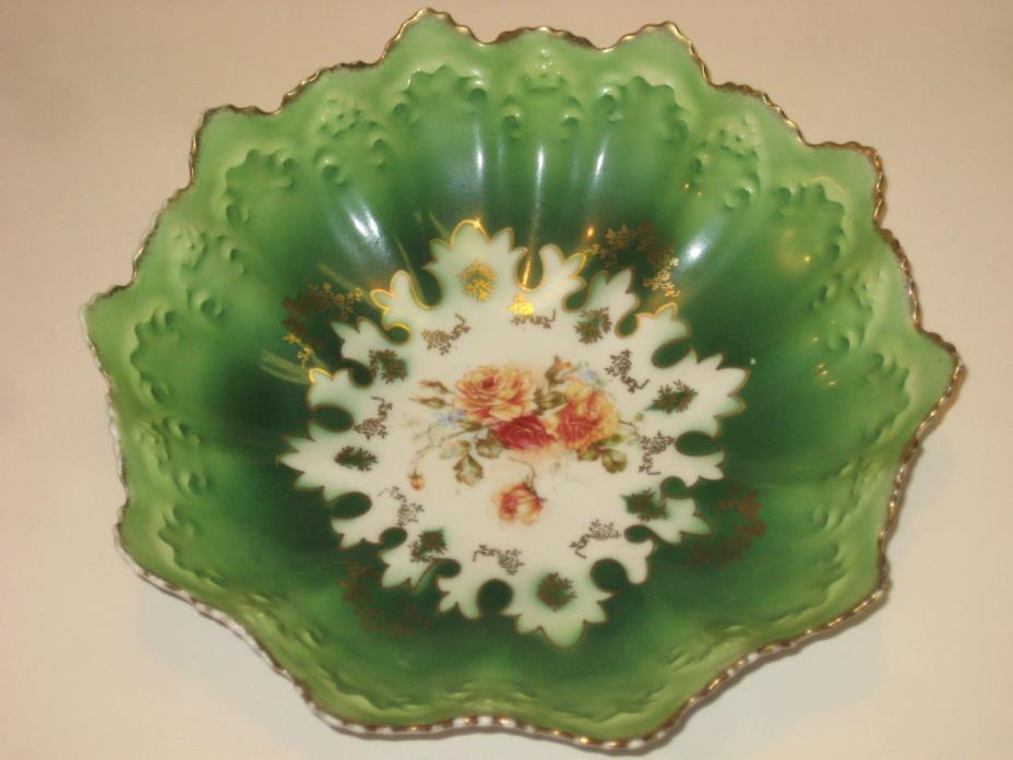 Antique Porcelain Bowl, from  Austria Germany