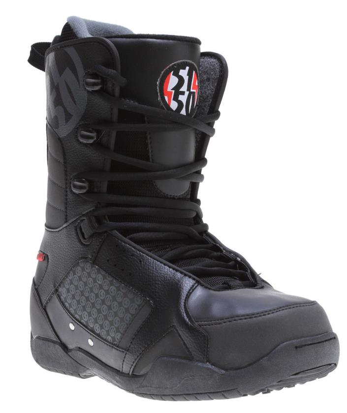 new Men's 5150 Squadron Snowboard Boots Black size 6
