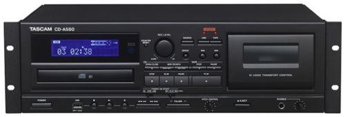 TASCAM CD-A580 CD / USB / Cassette Player / Record