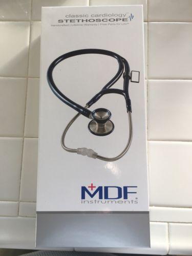 MDF Instruments Classic Cardiology Stethoscope NIB