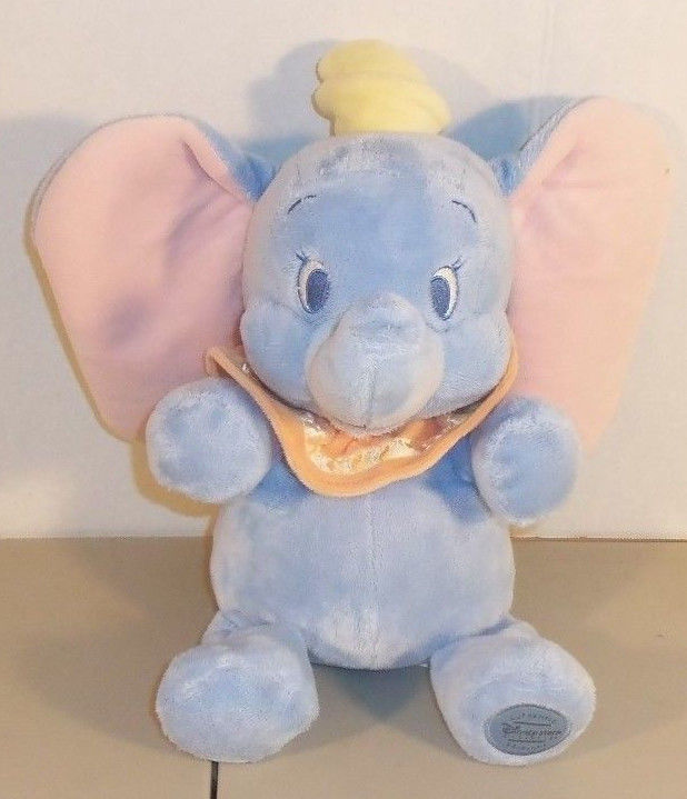 DUMBO BABY Plush Stuffed Animal Authentic Disney Store Toy 13
