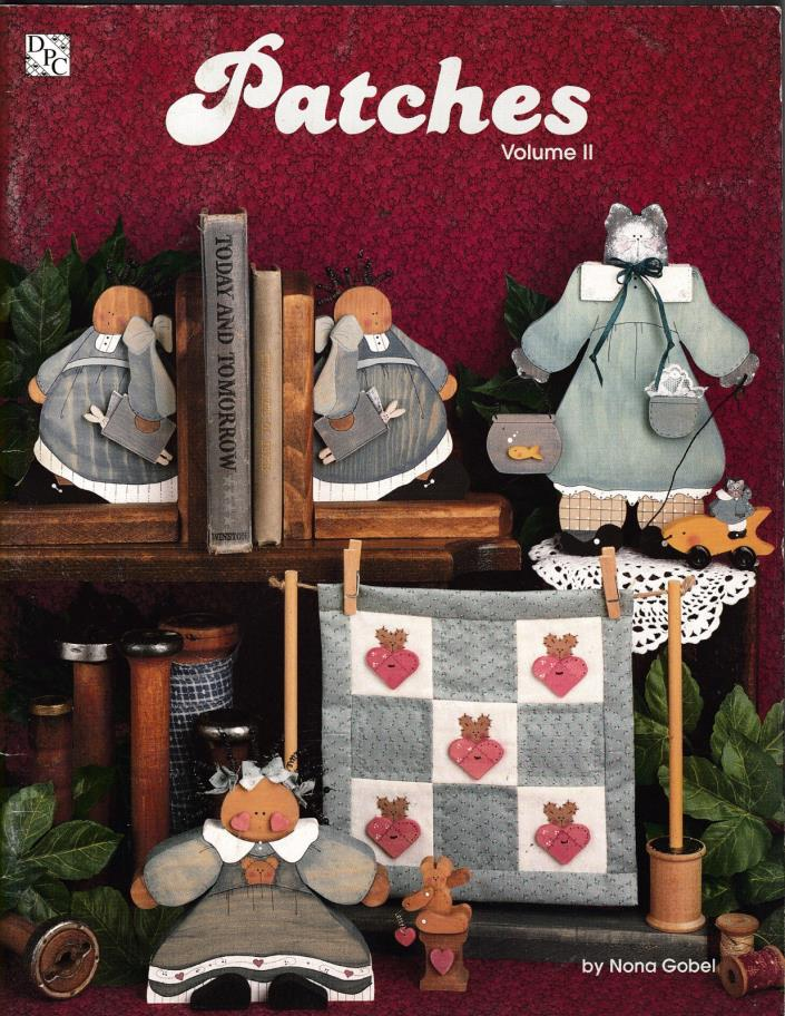 PATCHES VOLUME #2 PAINTING PATTERN BOOK BY NONA GOBEL