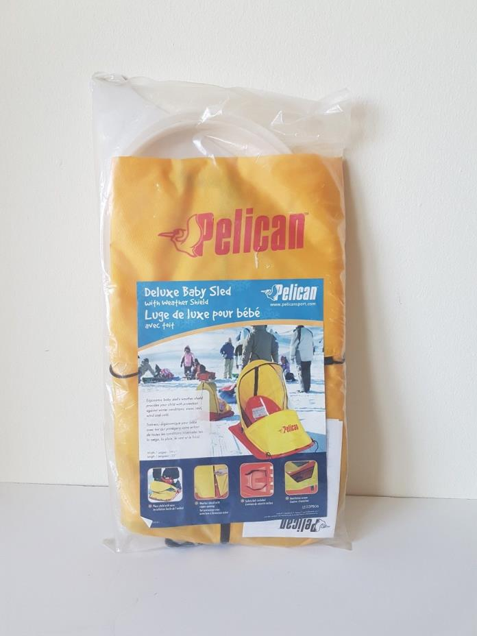 Pelican Deluxe Baby Sled Cover New in sealed Package 0-24 months Weather Shield