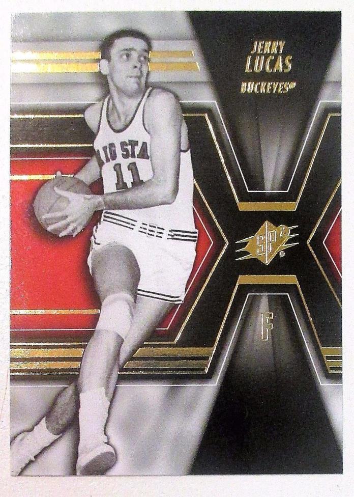 Jerry Lucas  * 2014-15 Upper Deck SPX * Ohio State Buckeyes