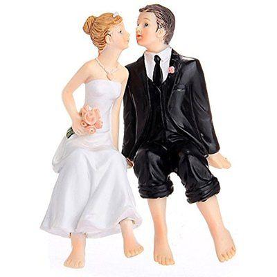 Kitchen Utensils & Gadgets Valentine's Day Sitting Couple Figurine Wedding Cake