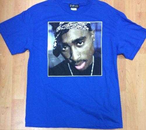 Tupac Shakur Rap Hip Hop Men's Large Shirt New without Tags