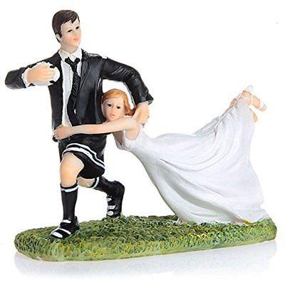 Kitchen Utensils & Gadgets Valentine's Day Funny Couple Rugby Figurine Wedding