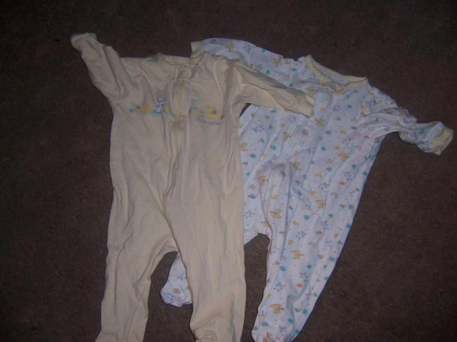 Gerber zipper sleepers size newborn