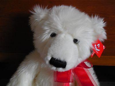 Beautiful White Aurora Teddy Bear