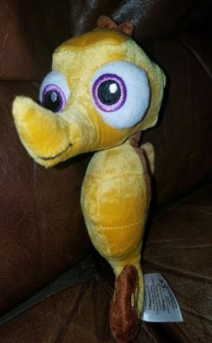 Disney Bean Bag Finding Nemo Seahorse Sheldon Plush 9