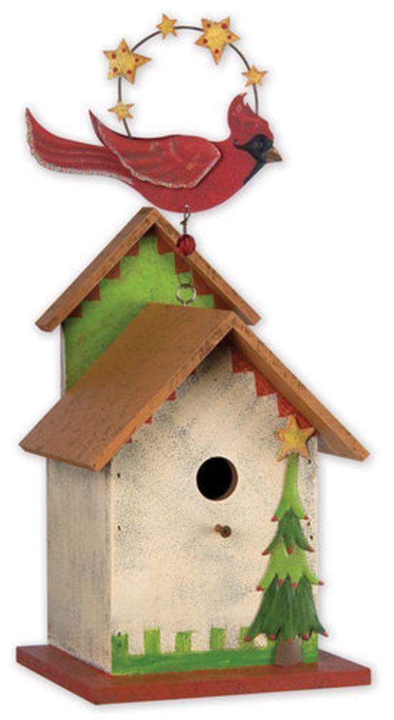 Atractive Birdhouse - Cardinal