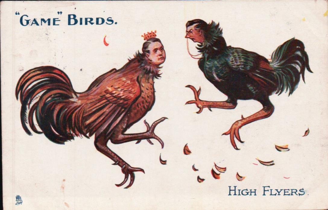 1904 British Political Postcard