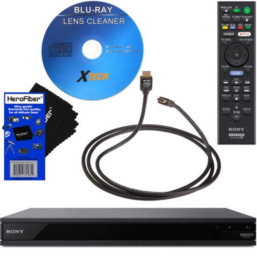 Sony UBP-X800 / UBP-UX80 4K Ultra HD Blu-ray Disc Player with Wi-Fi