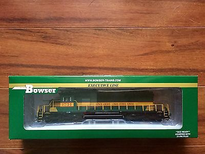 BOWSER HO 1/87 ONTARIO NORTHLAND  GMD SD40-2 DC /  DCC READY # 1734 F/S # 24114