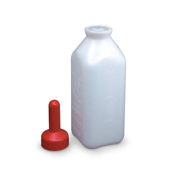 Merrick's Calf Bottle & Snap On Nipple 2 Quart Plastic Merricks--the good ones!