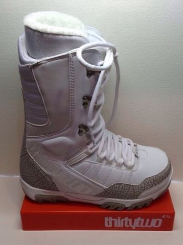 New Thirtytwo Prion Women's Snowboard Boots White 6 *Last Pair*
