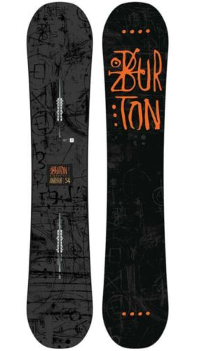 2018 Men's BURTON Amplifier 154cm Snowboard Flat Top Twin Flex Pro-Tip Scoop NEW