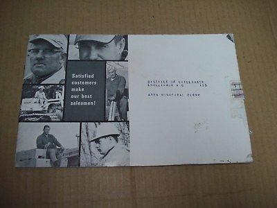 1967? Case 1150 Tractors Sales Brochure