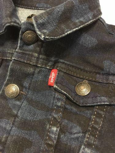 Toddler Levis Denim Jacket Camouflage 6-9 Months