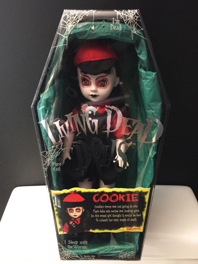 MEZCO Living Dead Dolls COOKIE Spencer EXCLUSIVE Open Box For Display