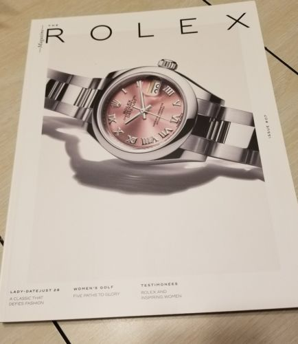 ROLEX Magazine Issue #07 NEW #07 2017-8 LADY DATEJUST