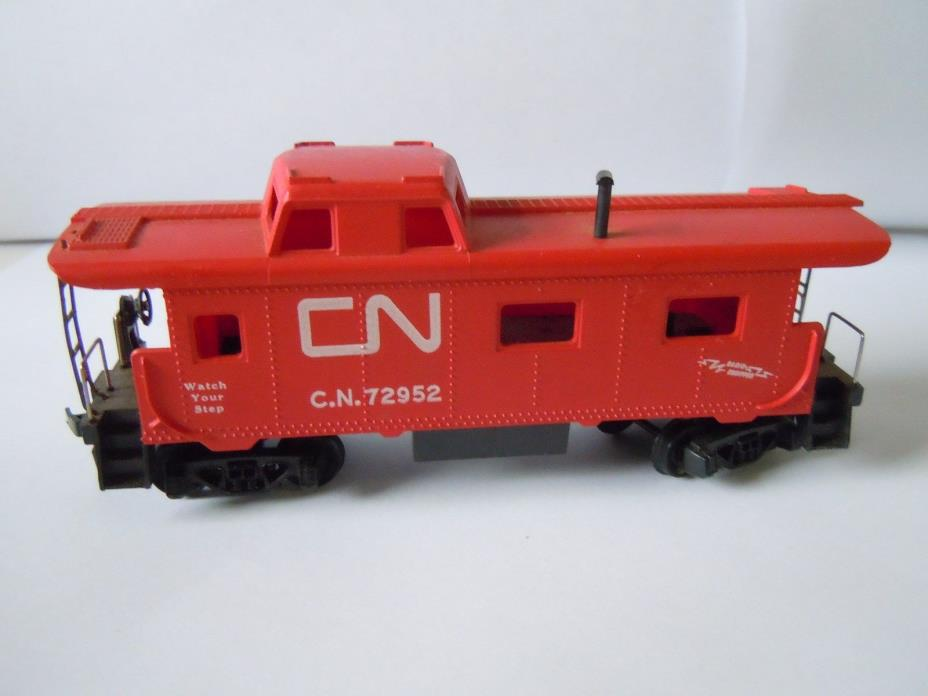 HO Scale, CN 72952 RED CABOOSE  ~ INVENTORY# 1180