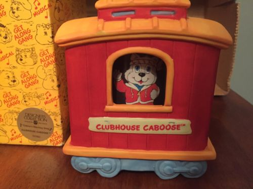Good Time Gang Music Box Collectible, Clubhouse Caboose - American Greetings