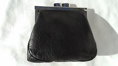 Osgoode Marley 1670 Black Leather Coin Purse