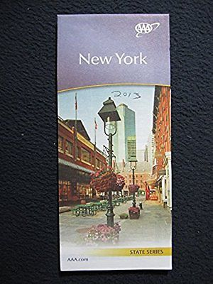 AAA New York 2013 Map - Incl. Shipping!