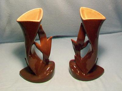 Two Roseville Pottery Vases #1004-9